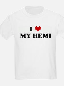 I Love MY HEMI Kids T-Shirt