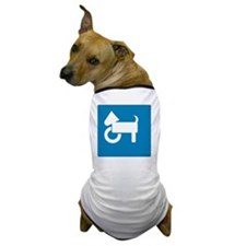 Front Wheelchair Dog Dog T-Shirt