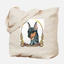 Miniature Pinscher Holiday/Xmas Tote Bag