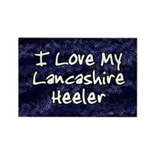 lancashire_funkylove_oval Rectangle Magnet