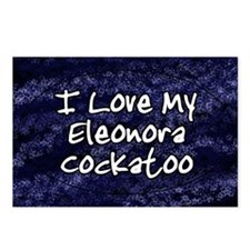 funklove_oval_eleonora Postcards (Package of 8)