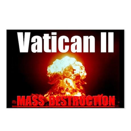 Vatican 2 Postcards (Package of 8)
