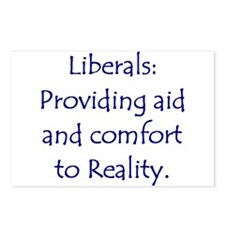 Liberals: Aid and Comfort to Postcards (Package o