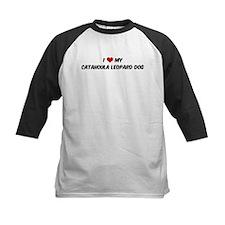 I Love: Catahoula Leopard Dog Tee
