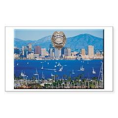 San Diego Police Skyline Decal