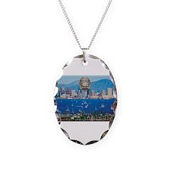 San Diego Police Skyline Necklace