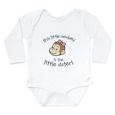 Little Sister - Monkey Body Suit