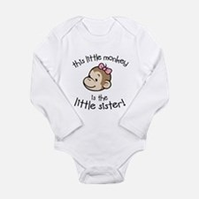 Little Sister - Monkey Body Suit