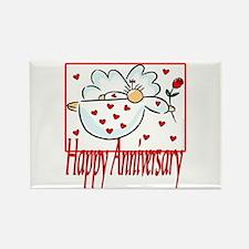 Happy Anniversary Rectangle Magnet