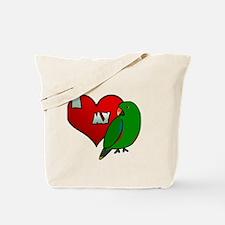 iheartmy_ge_male_blk Tote Bag