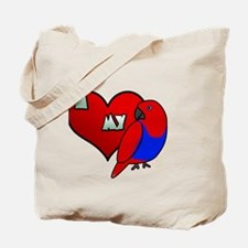 iheartmy_rs_hen_blk Tote Bag