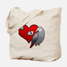 iheartmy_timneh_blk Tote Bag