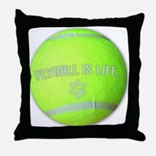 flyball_life Throw Pillow