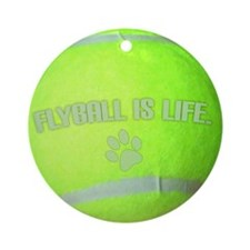 flyball_life Round Ornament
