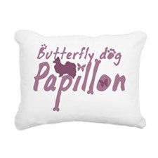greenpaws_papillon Rectangular Canvas Pillow