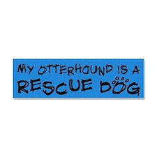 rescuedog_otterhound Car Magnet 10 x 3