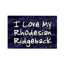 funklove_oval_rhodesian Rectangle Magnet