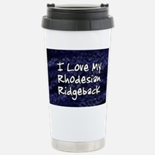 funklove_oval_rhodesian Stainless Steel Travel Mug