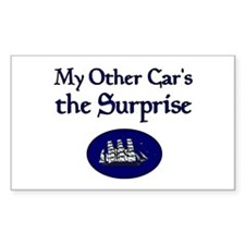 My Other Car's the Surprise Rectangle Decal