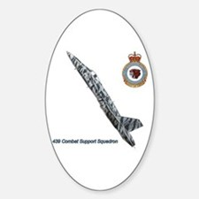 439 Combat Support Squadron Oval Decal