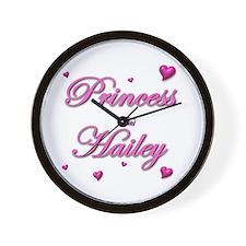 Unique Hailey Wall Clock
