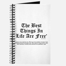 Best Things Are Free* Journal