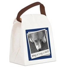 corgi_ruff_mousepad Canvas Lunch Bag