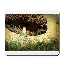 Underneath the Mushroom Mousepad