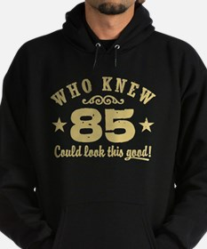 Funny 85th Birthday Hoodie (dark)