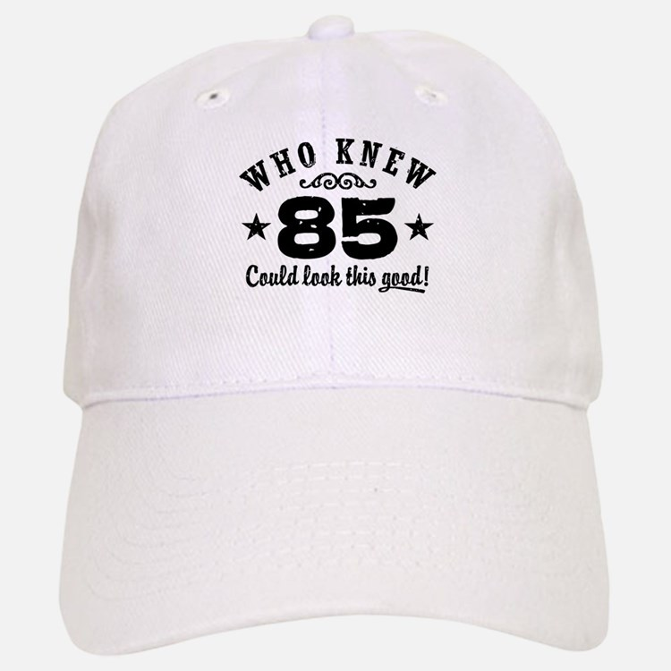 Funny 85th Birthday Baseball Baseball Cap