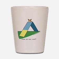 agilitycorgi_hat Shot Glass