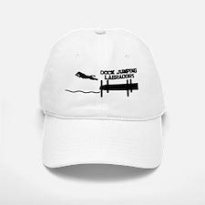 dogjumping_labrador_mug Baseball Baseball Cap