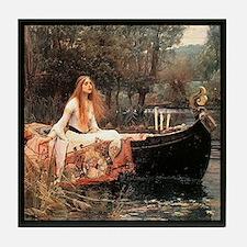 """""""The Lady of Shalott"""" Tile Coaster"""
