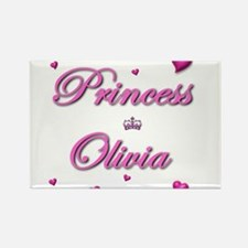 Funny Olivia Rectangle Magnet