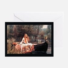 """""""The Lady of Shalott"""" Greeting Cards (Pk of 10"""
