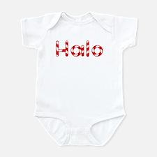 Halo - Candy Cane Infant Bodysuit