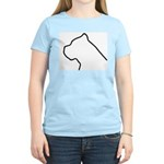 Cane Corso Outline Women's Light T-Shirt