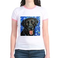 Black Labrador smile T-Shirt