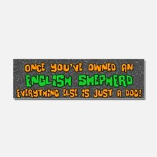 englishshepherd_everythingelse Car Magnet 10 x 3