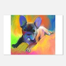 French bulldog 1  Postcards (Package of 8)