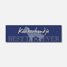 kooiker_bestdogever Car Magnet 10 x 3