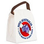 Dive Australia (rd) Canvas Lunch Bag