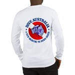 Dive Australia (rd) Long Sleeve T-Shirt