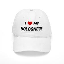 I Love: Bolognese Baseball Cap