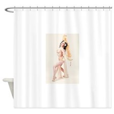 indiana gold Shower Curtain