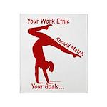 Gymnastics Throw Blanket - Ethic