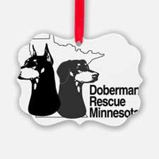 Doberman rescue of MN Ornament