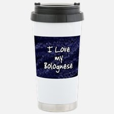 funklove_oval_bolognese Stainless Steel Travel Mug