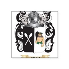Koch Coat of Arms - Family Crest Sticker