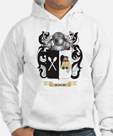 Koch Coat of Arms - Family Crest Hoodie